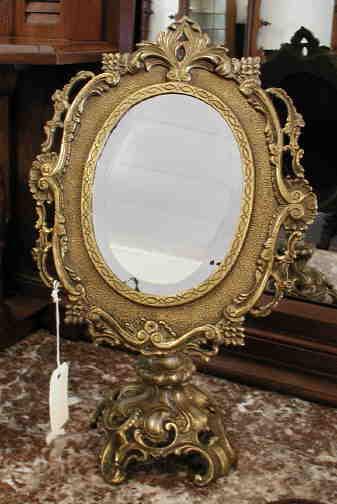 Mirror Brass Dresser